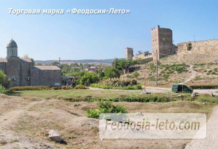 Генуэзская крепость в Крыму - Феодосия - фотография № 3