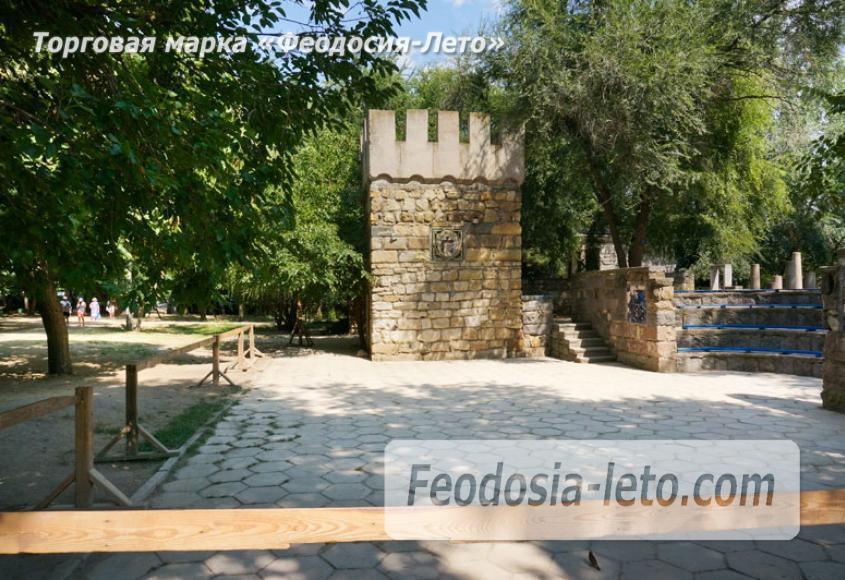 Комсомольский парк в Феодосии - парки города - фотография № 20
