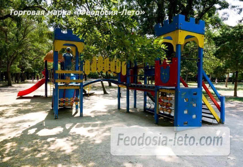 Комсомольский парк в Феодосии - парки города - фотография № 4