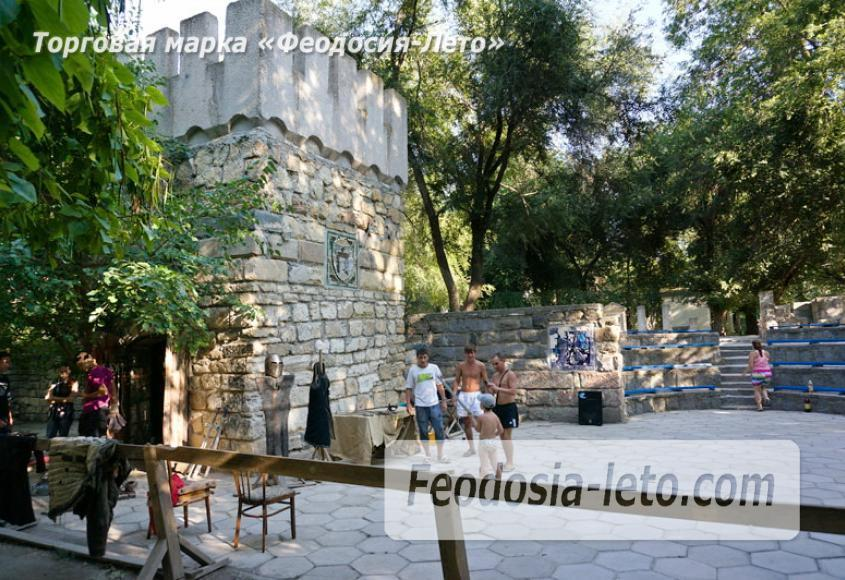 Комсомольский парк в Феодосии - парки города - фотография № 24
