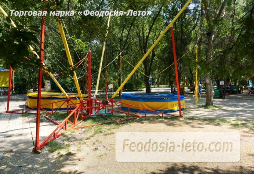 Комсомольский парк в Феодосии - парки города - фотография № 5
