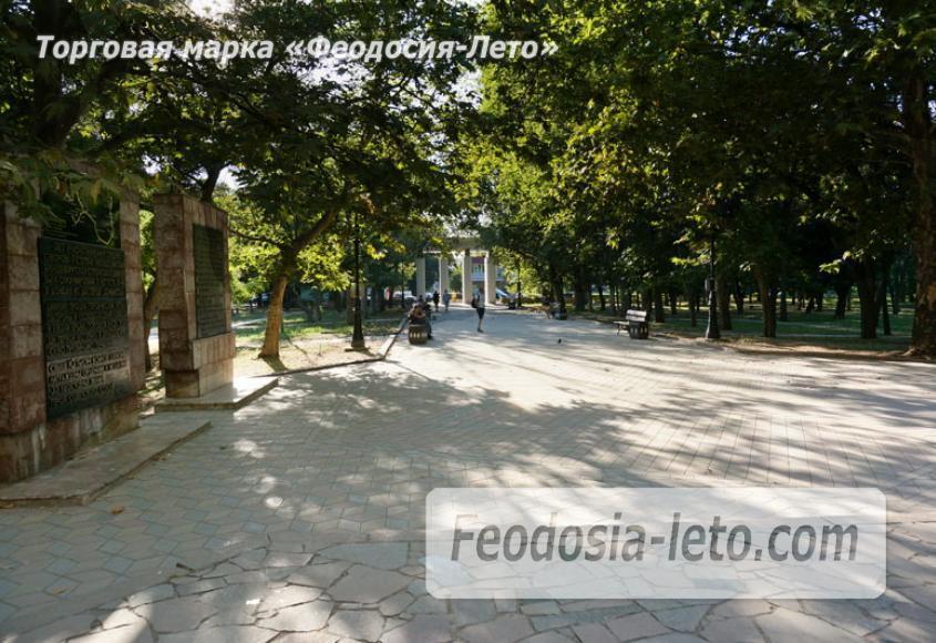 Комсомольский парк в Феодосии - парки города - фотография № 40