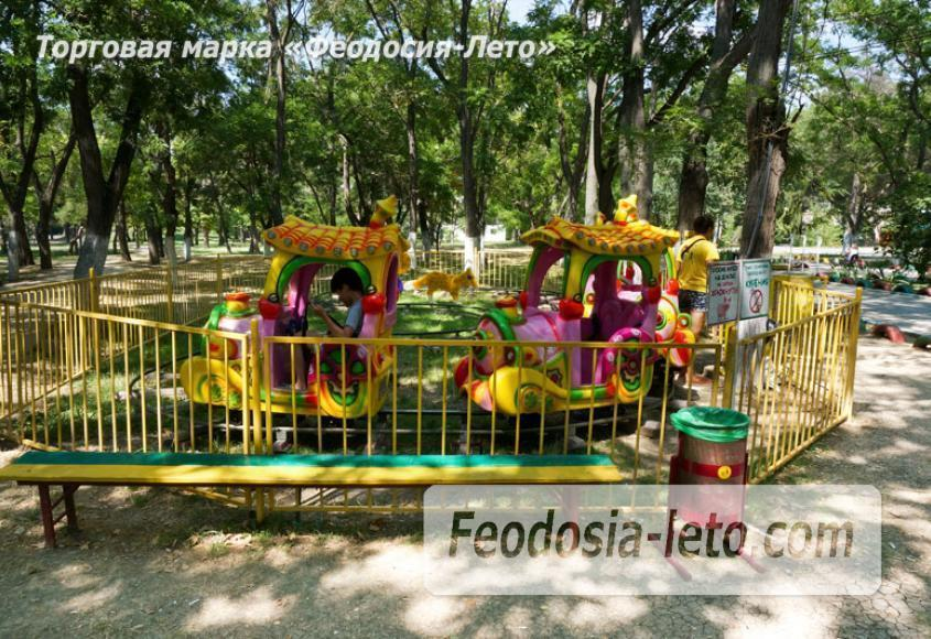 Комсомольский парк в Феодосии - парки города - фотография № 7