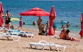Пляжи Феодосии на Черноморской набережной