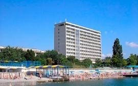 Пляж Министерства обороны в Феодосии