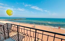 5-ти этажный эллинг на Золотом пляже в Феодосии