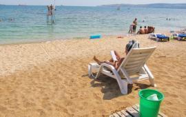 Эллинг в Феодосии у моря с собственным пляжем