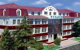Отель в Феодосии на Бульварной горке, улица Пушкина