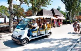 Экскурсии по городу Феодосия на электромобилях