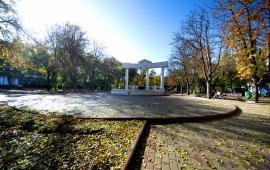 Юбилейный парк и фонтан Доброму гению в Феодосии