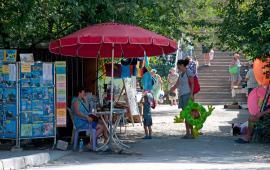 Точка продажи билетов в Феодосии на экскурсии