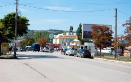 Районы Феодосии: бульвар Старшинова и улица Крымская