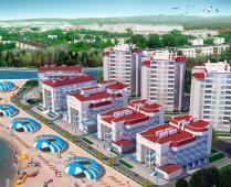 Жилой комплекс Консоль на берегу моря в Феодосии - фотография № 1