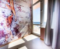 Эллинги в Феодосии: 2-комнатный номер с видом на море - фотография № 2