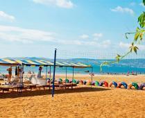 Песчаный пляж гостиницы в Феодосии - фотография № 7