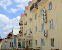 Пляж пансионата: - фотография № 5